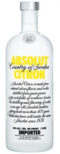 Absolut Vodka Citron 1.00l